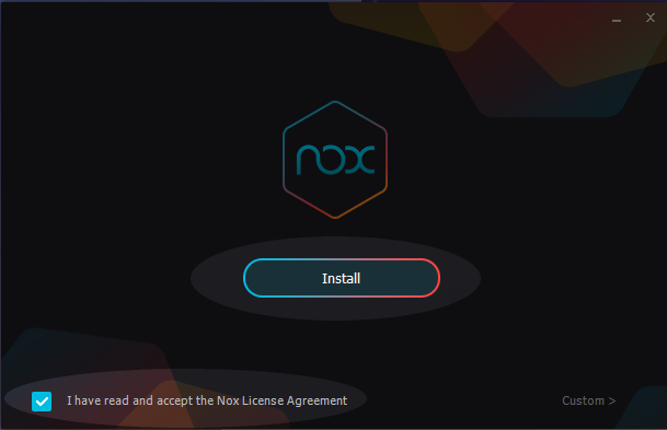 Installer NoxPlayer étape 1