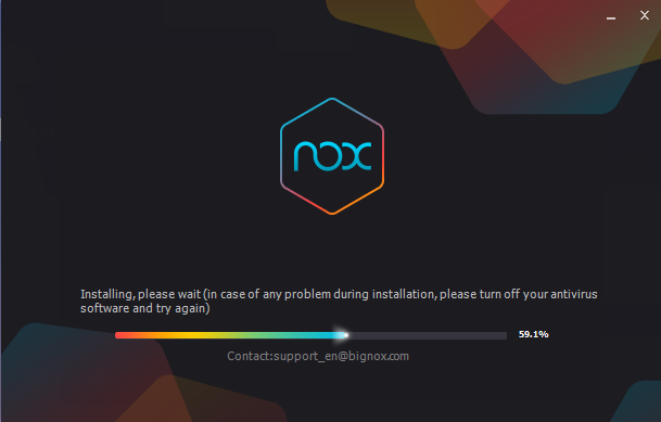 Installer NoxPlayer étape 2